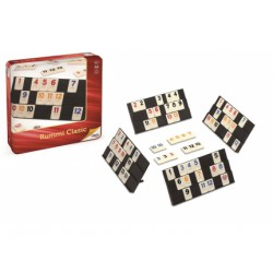 RUMMI CLASSIC METALBOX 27X27X5.7 PIEZA REAL TAMAÑO 2.7X3.8X0.4