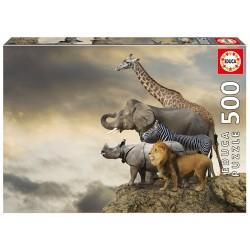500 ANIMALES AL BORDE DEL ABISMO