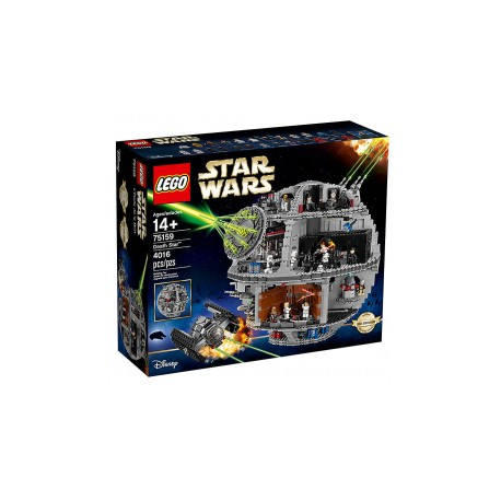 Lego 75159 Star Wars Estrella De La Muerte basura compactador monstruo dianoga Minifigura