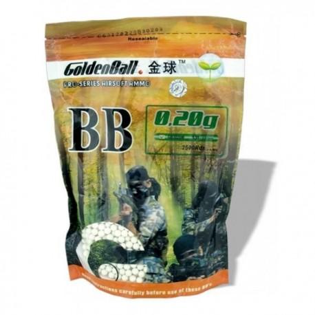 BOLA GOLDEN COMPACTA 1/2 KG.0.20G