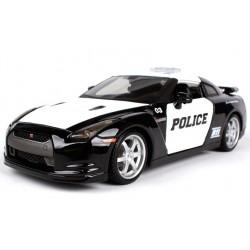 1/24 NISSAN GT-R-R 35- POLICE