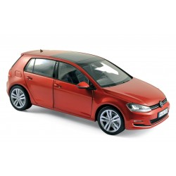 1/18 VOLKSWAGEN GOLF 2013 SUNSET RED