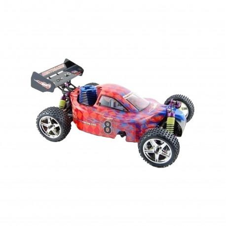 1/10 SYCLONE BUGGY GAS MOTOR18 1VELOCIDAD 4WD 2,4GHZ