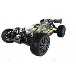 1/8 FIRESTONE BUGGY GAS MOTOR21 VERDE 4WD 2,4GHZ
