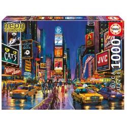 1000 TIMES SQUARE N YORK NEON