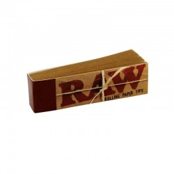 RAW FILTROS CARTON BROWN 50 TIPS