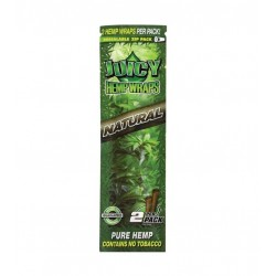 JUICY HEMP WRAPS NATURAL -2 BLUNTS -