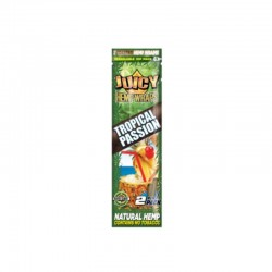 JUICY HEMP WRAPS TROPICAL-2 BLUNTS -