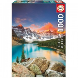 1000 LAGO MORAINE BANFF NATIONAL PARK CANADA