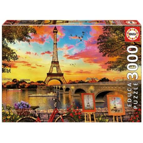 3000 PUESTA DE SOL EN PARIS