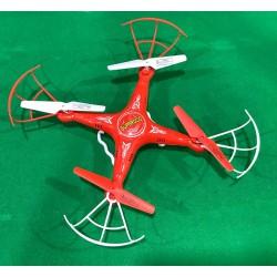HAWK EYE DRONE C/CAMARA HD FPV C/PANTALLA SD4GB 2.4GHZ 4AA DISTANCIA MAXIMA DE ALCANCE 50 METROS