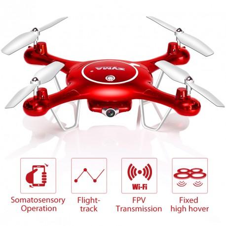 X5UW DRONE C/CAMARA WIFI 720P 3,7V 500mAh 2.4GHZ SD:4GB