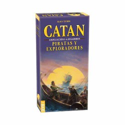 PIRATAS Y EXPLORADORES AMPLIACION 5-6 JUGADORES DEL CATAN