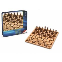 METAL BOX AJEDREZ DAMAS 29X29X1.5