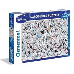 1000 DALMATAS IMPOSIBLE PUZZLE